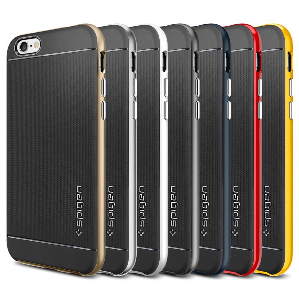 Amazon.com: iPhone 6 Case, Spigen [METALLIZED BUTTONS] Neo