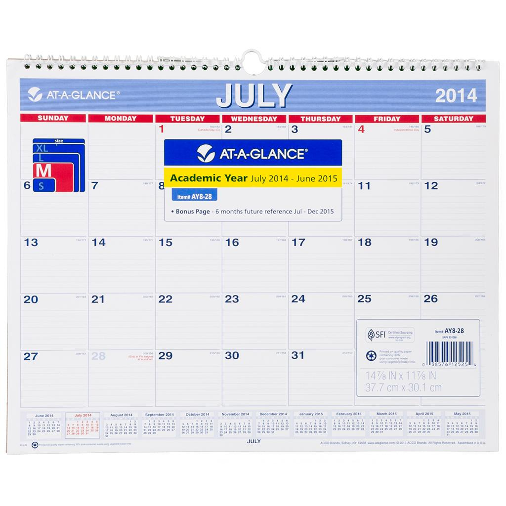 "... for ""Microsoft Blank Month At A Glance Calendar"" – Calendar 2015"