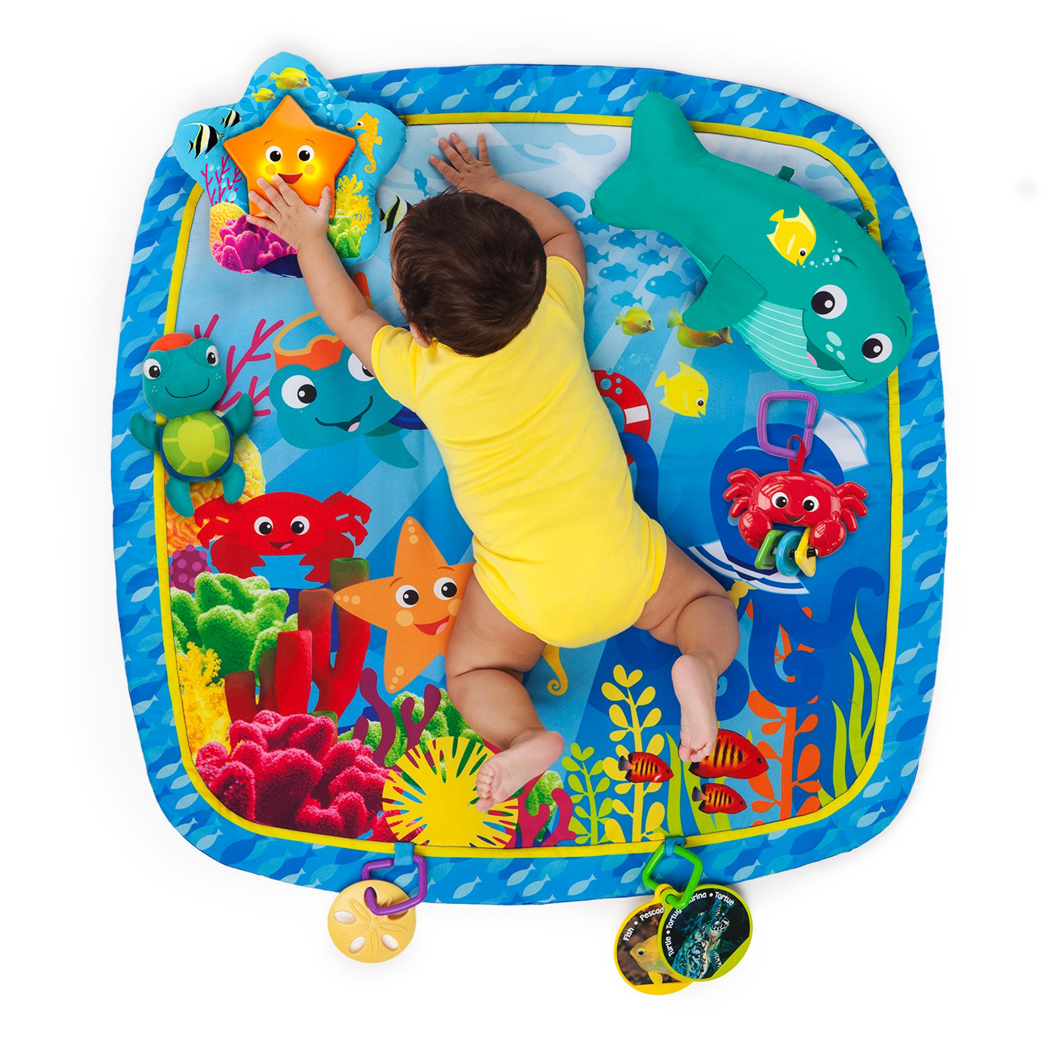 New Multi Color Play Gym Nautical Friends W 6 Additional