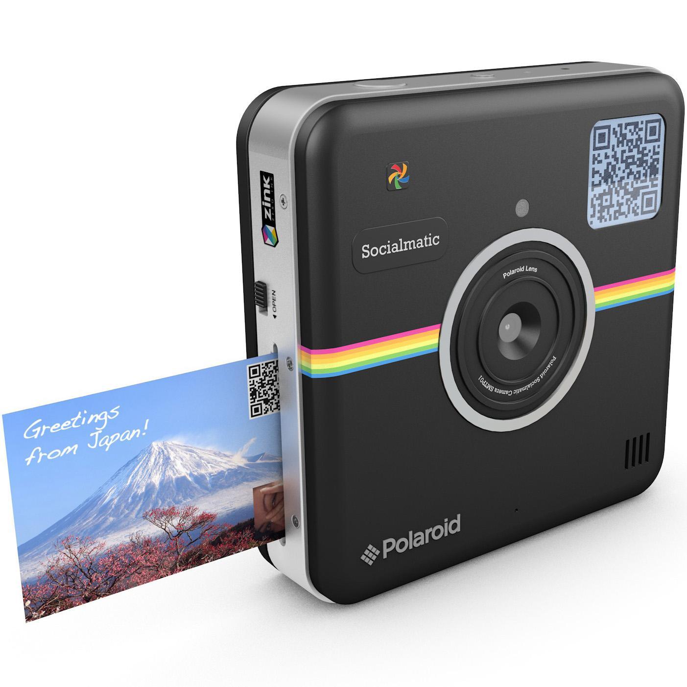 Amazon.com : Polaroid Socialmatic Instant Digital Camera (Black