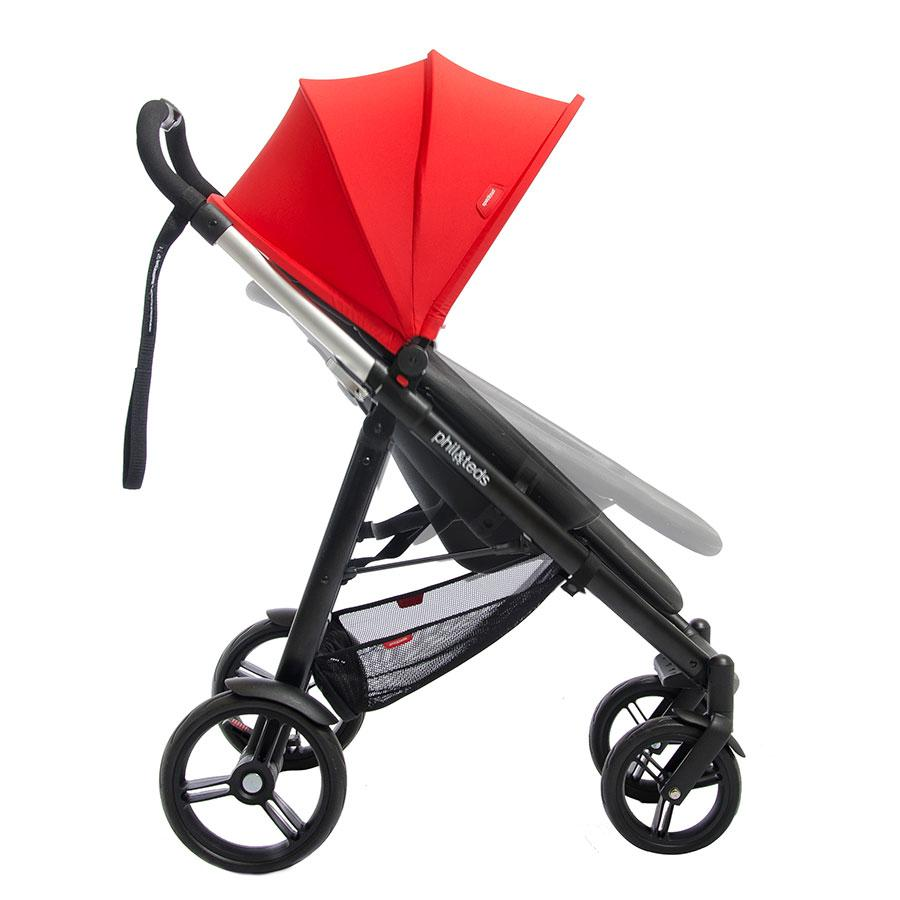 Phil Teds Smart Compact Stroller Black