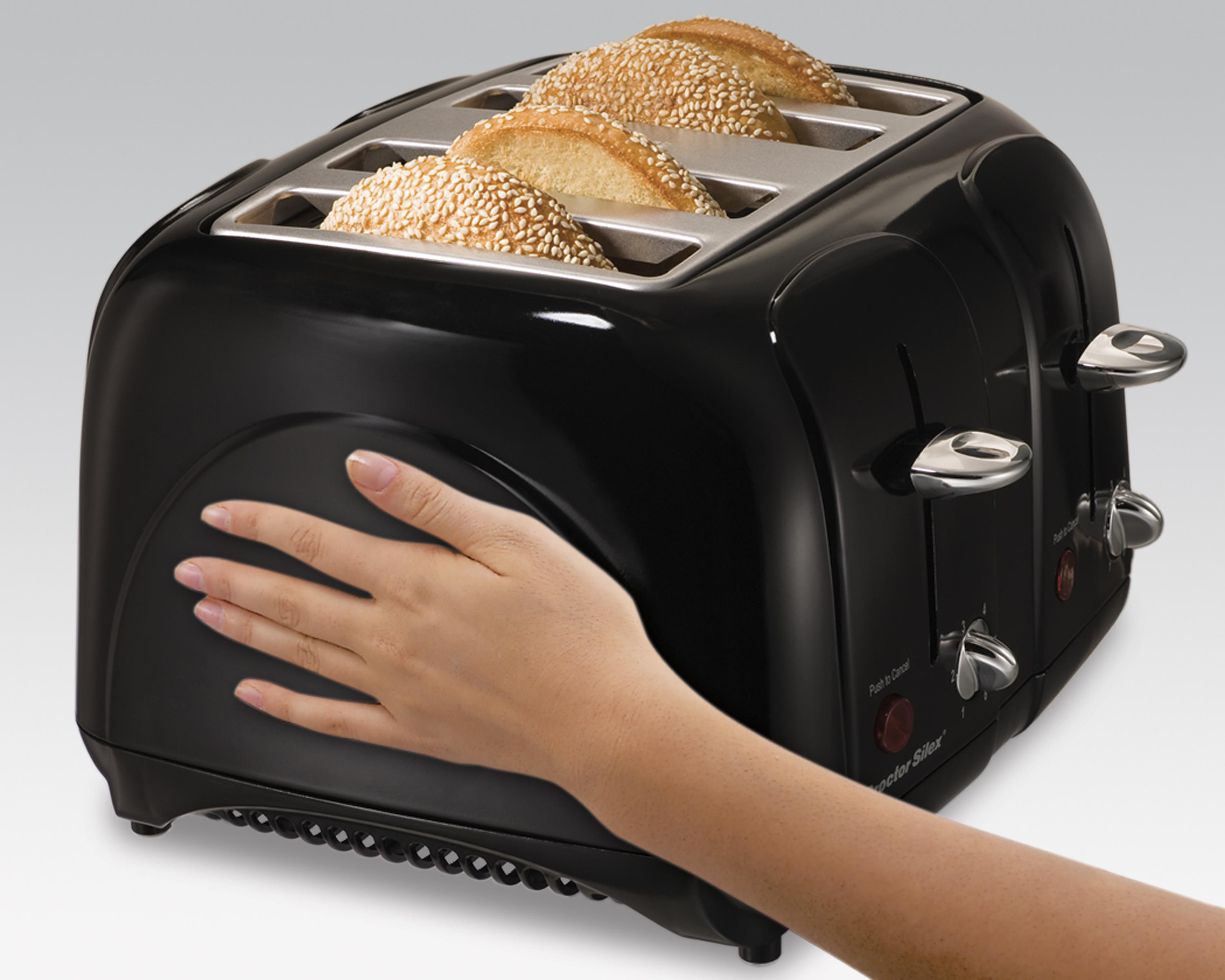 Amazon Com Proctor Silex Cool Touch 4 Slice Toaster