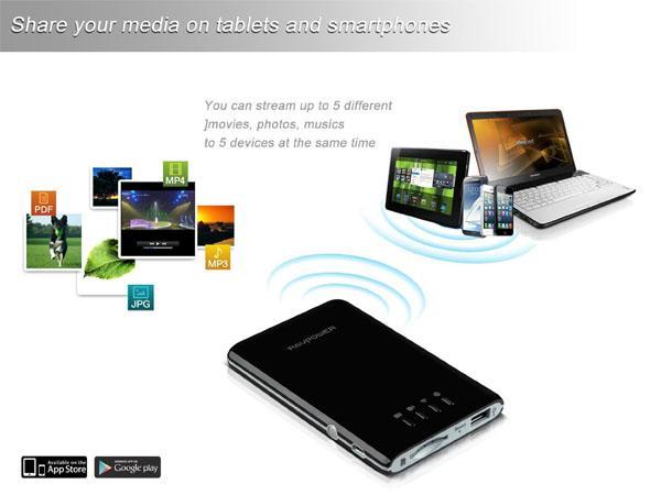 File Hub Ravpower Wireless SD Card Reader