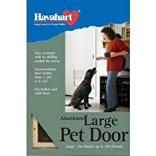 Havahart Large Aluminum Dog Door
