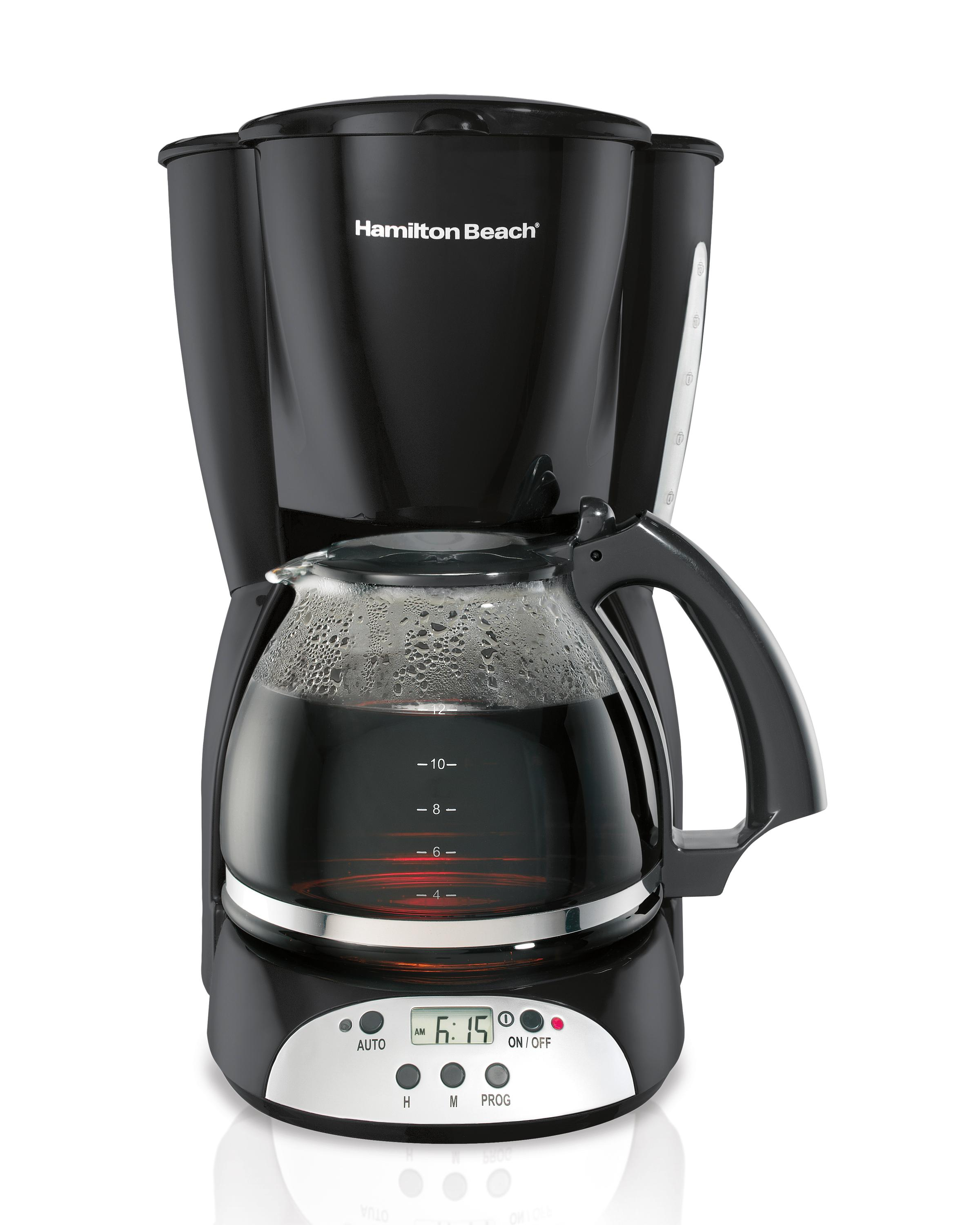 Hamilton beach 12 cup coffee maker digital Coffee maker brands