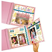 Memory Book Panoramic Scrapbook Page Protectors