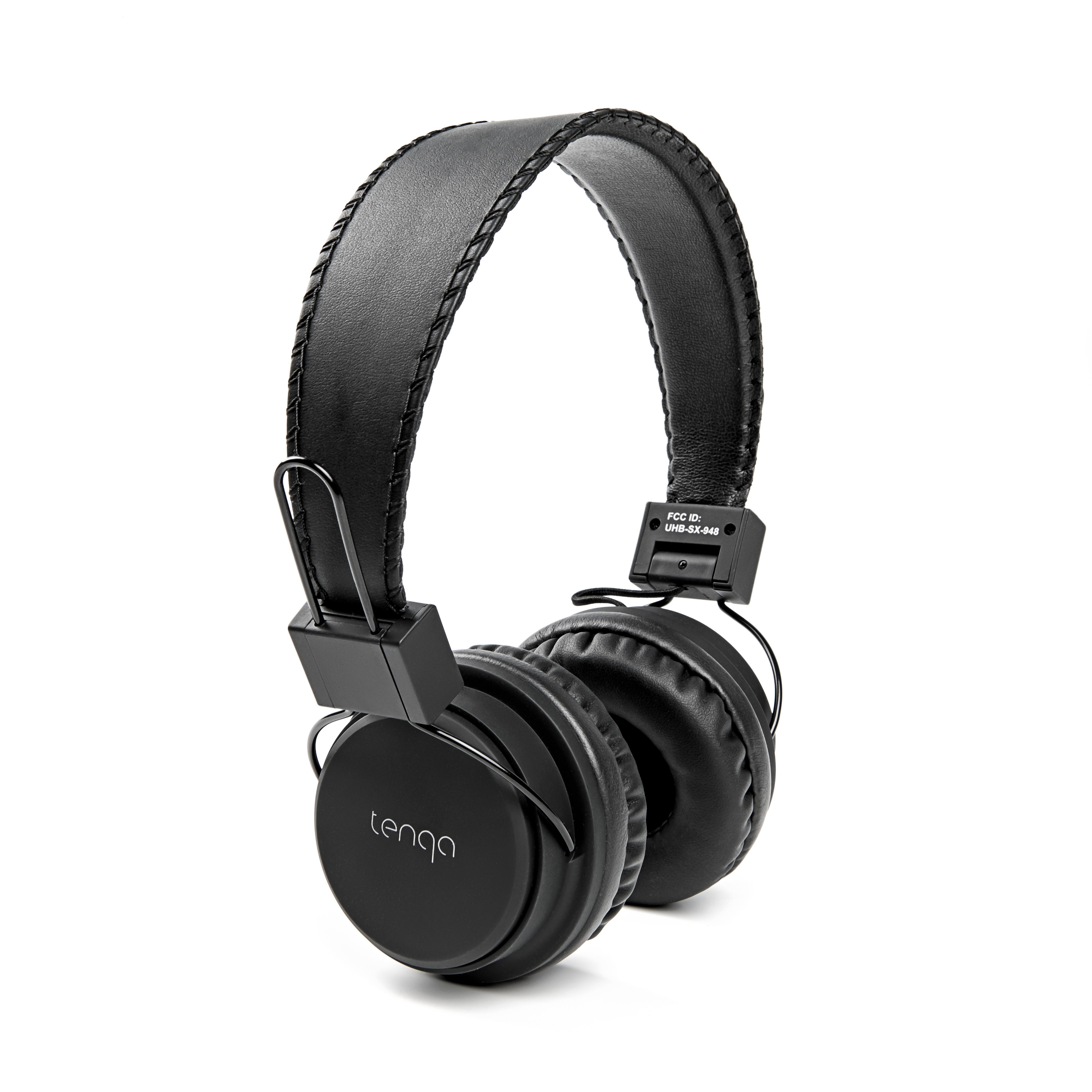 tenqa remxd wht wireless bluetooth headphones white electronics. Black Bedroom Furniture Sets. Home Design Ideas