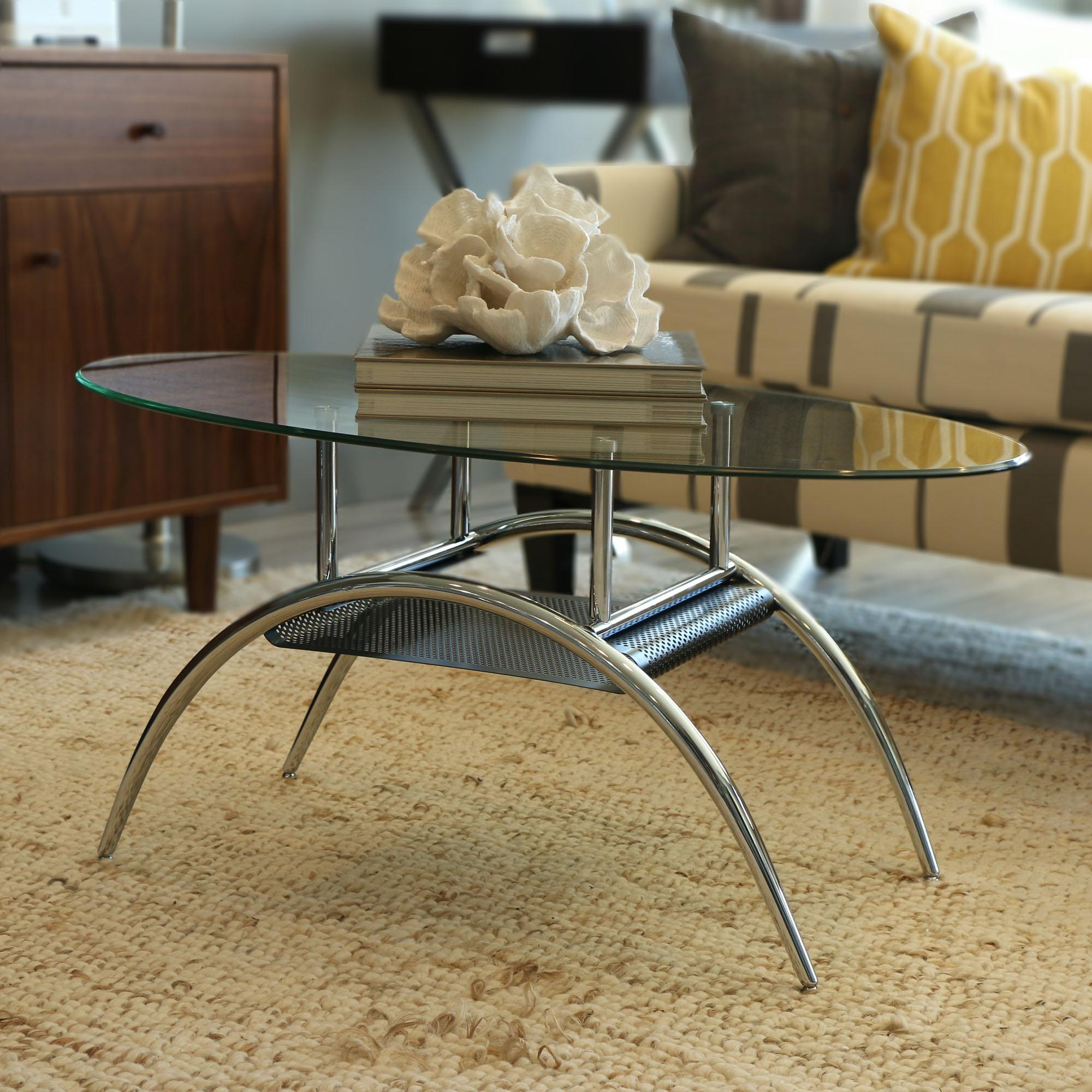 Glass oval coffee table coffe table - Couchtisch oval glas ...