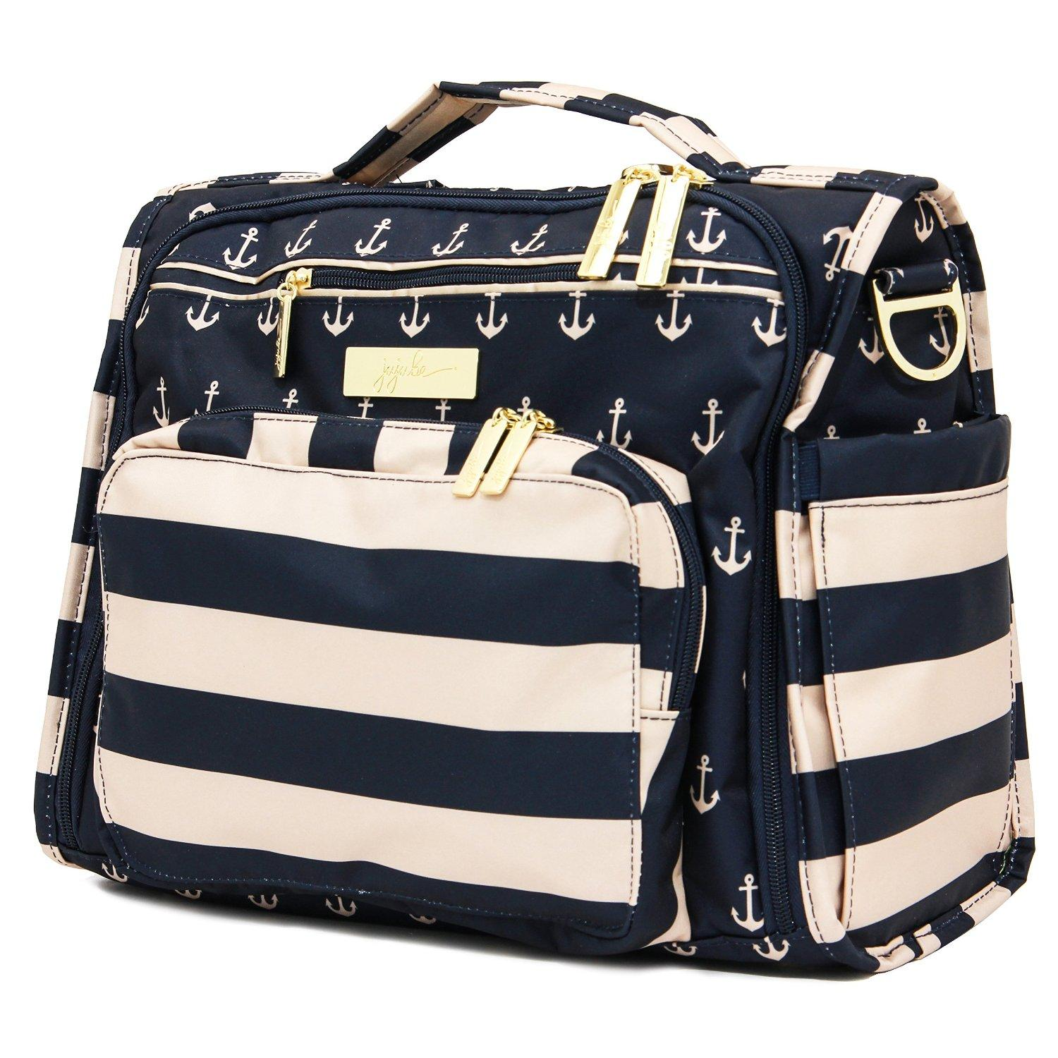 ju ju be legacy nautical collection b f f convertible diaper bag the commodore baby. Black Bedroom Furniture Sets. Home Design Ideas