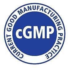Made in USA, cGMP Certified Facility