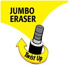 Long-Lasting Twist-Up Eraser