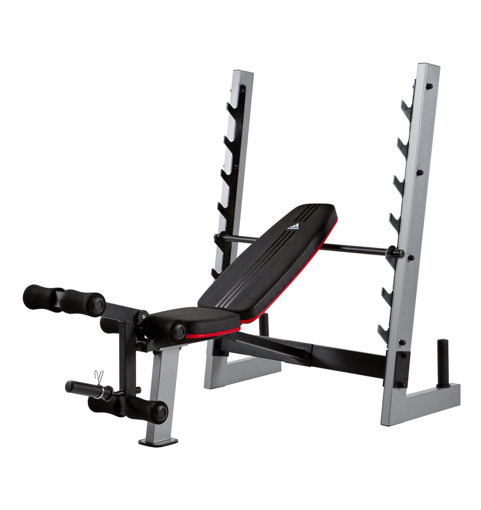 Adidas olympic weight bench standard weight benches sports outdoors Weight bench and weights