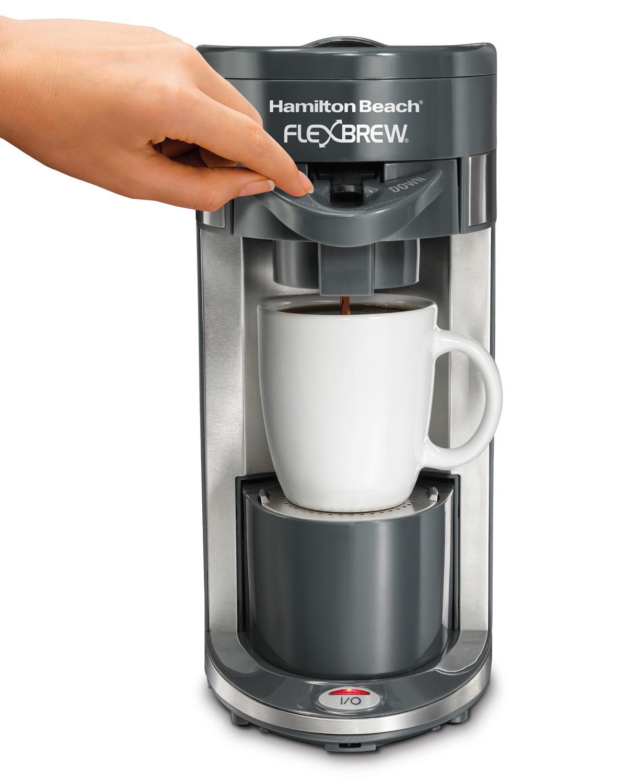 Hamilton Beach Coffee Maker Flex Brew Single