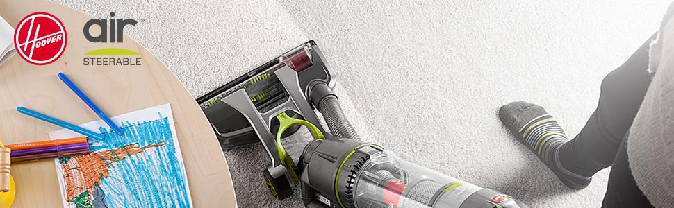 hoover air steerable how to use hose