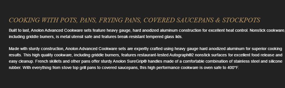anolon advanced hard anodized cookware