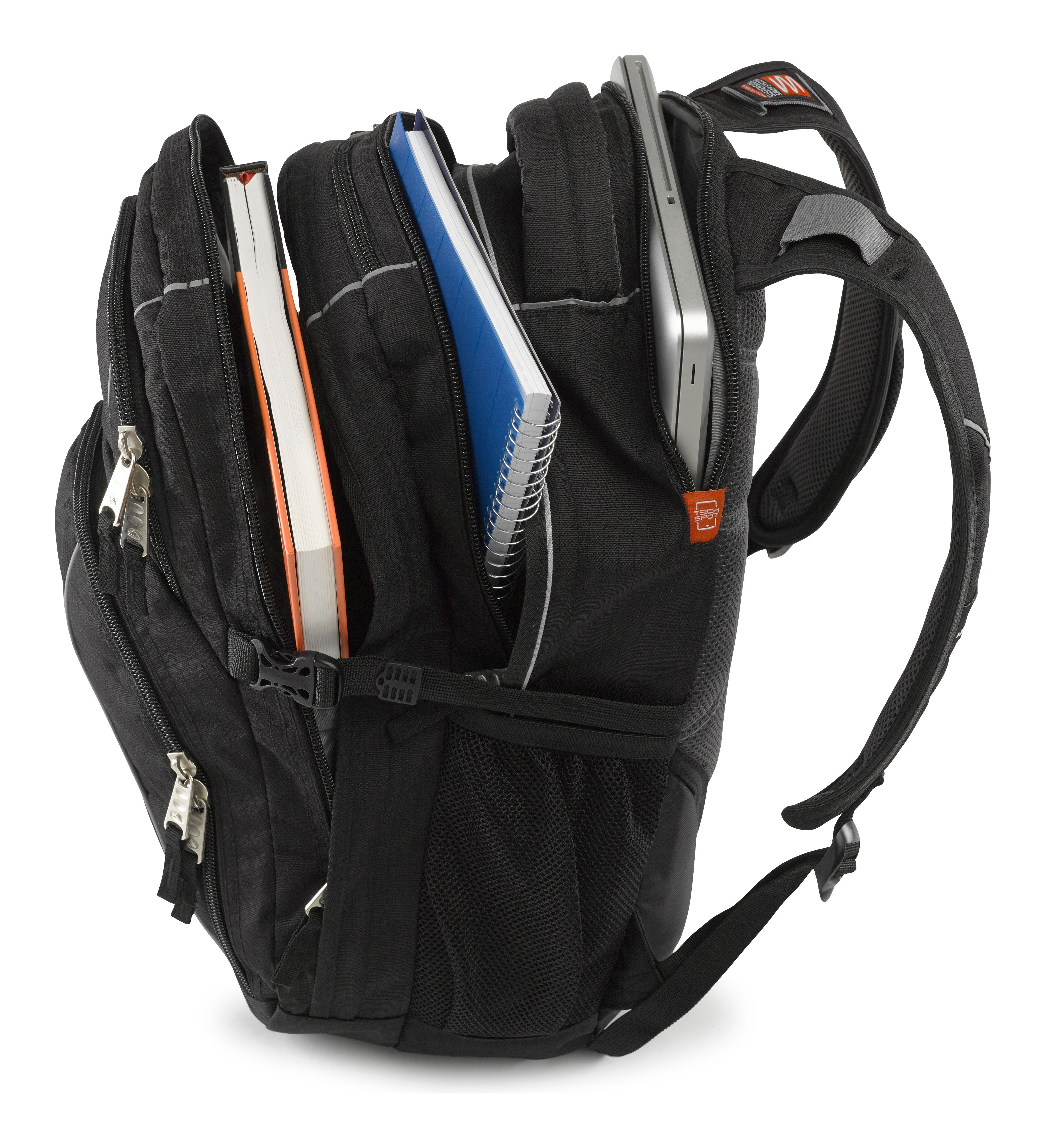 Amazon.com: High Sierra Swerve Backpack, Royal Cobalt/Black, 19 x 13 x