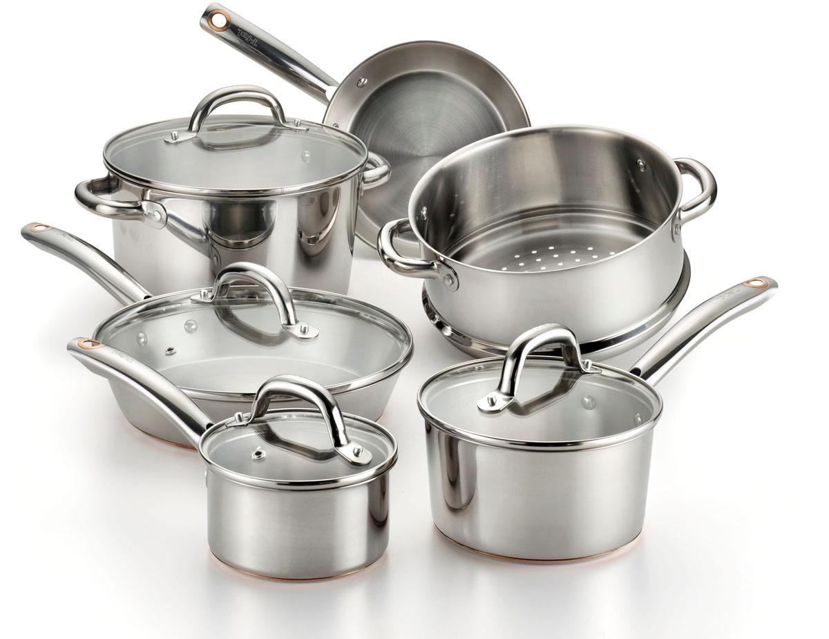 copper bottom stainless steel cookware publicly sequence