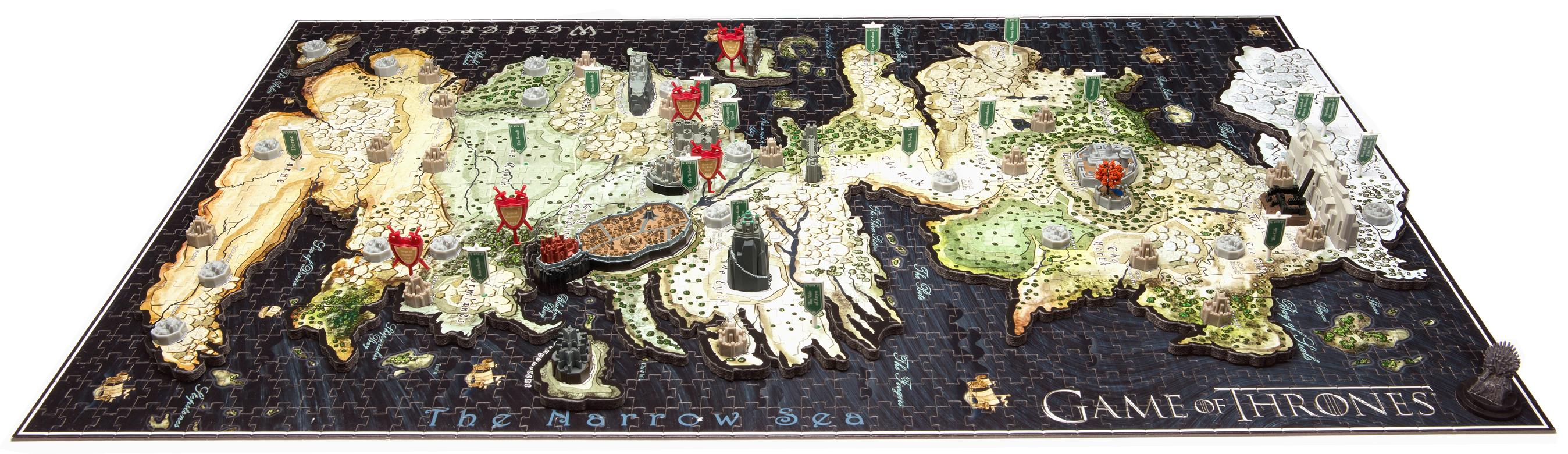 Amazon Com 4d Cityscape Game Of Thrones Westeros Puzzle