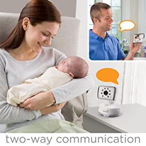 summer infant dual view digital color video baby monitor baby audio visual. Black Bedroom Furniture Sets. Home Design Ideas