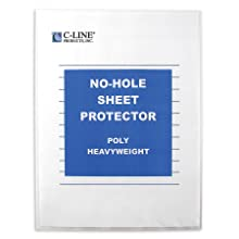 No-Hole Sheet Protector