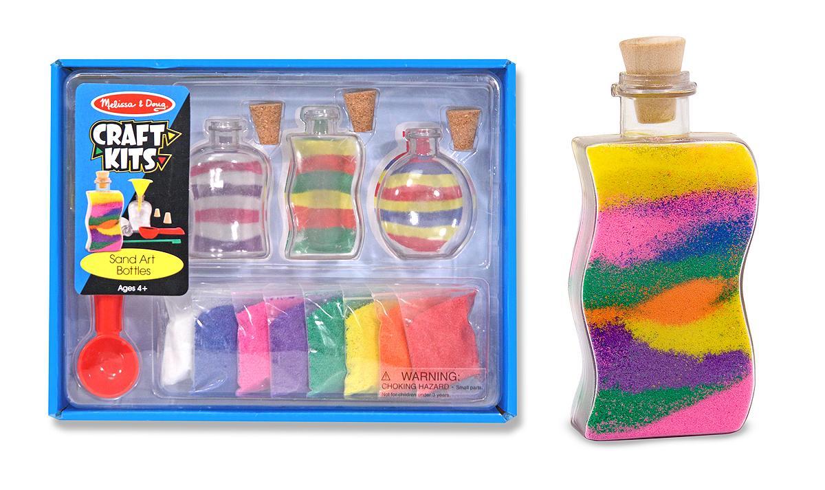 Melissa doug sand art bottles melissa for Craft kits for 11 year olds