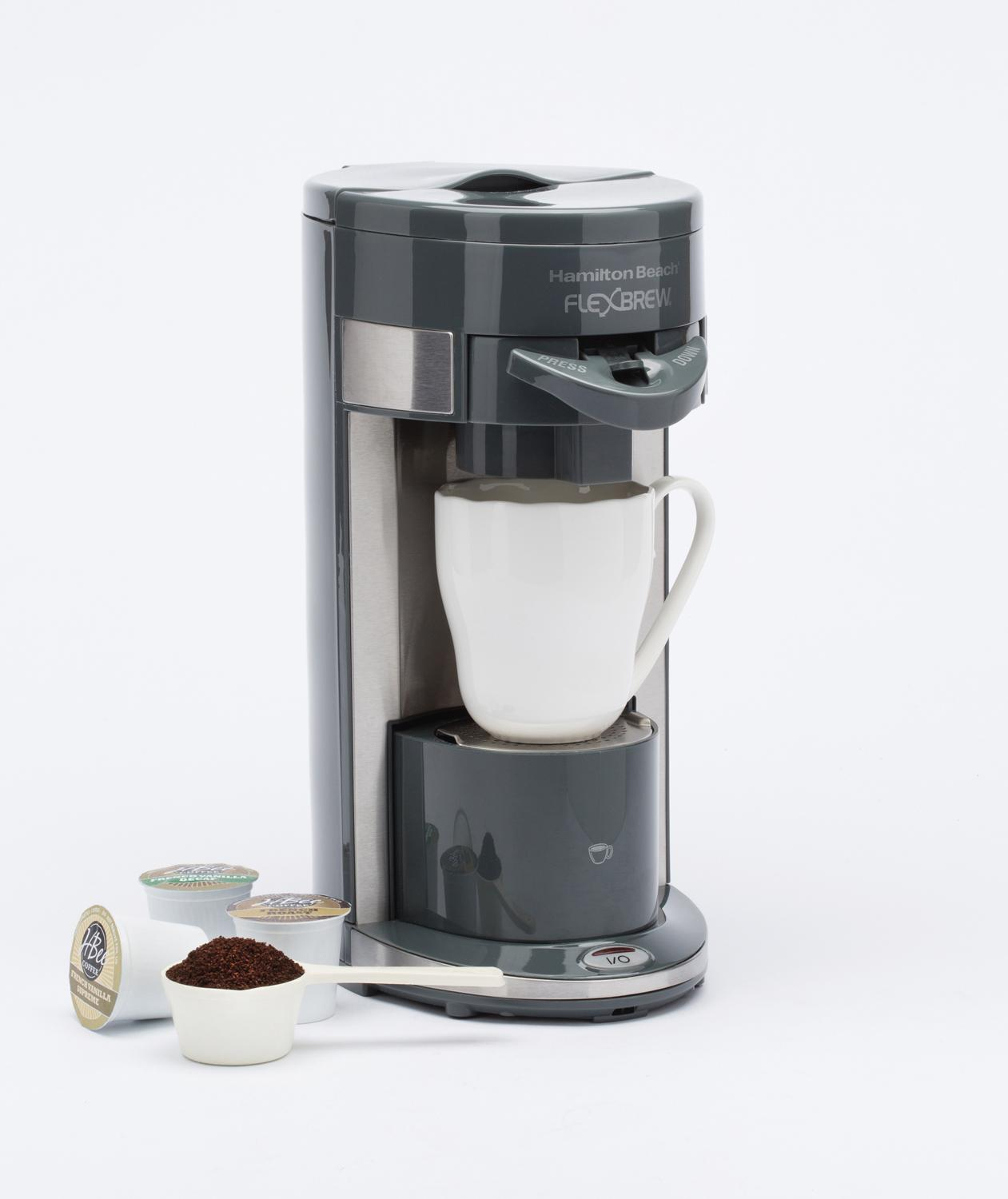 Hamilton Beach Coffee Maker Flex Brew Single