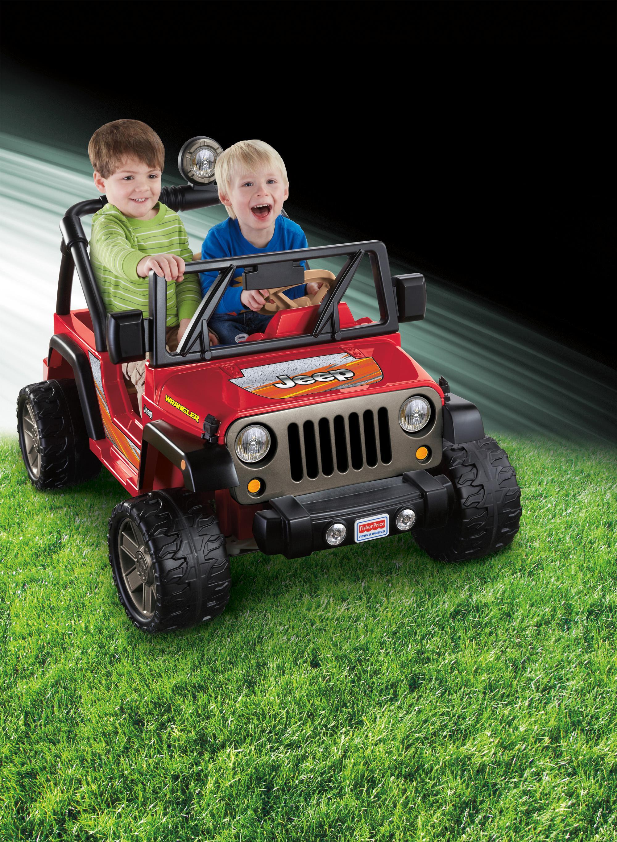 Fisher Price Power Wheels Jeep Wrangler Kids Battery