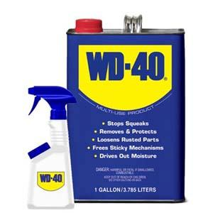 WD-40, WD40, lubricant, lubricate, rust remover, gallon, Industrial, heavy-duty