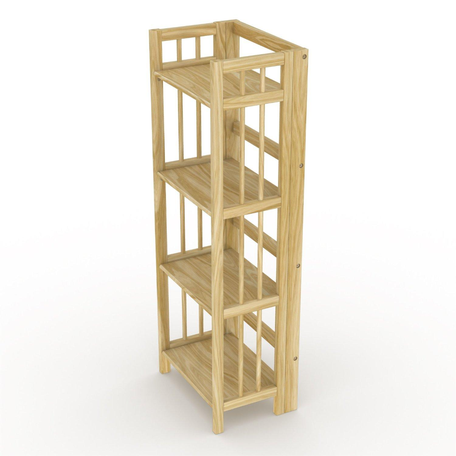 Stony edge fbc 16 na no assembly folding Folding bookshelf