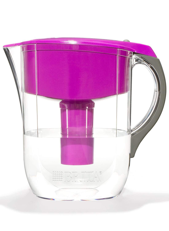 Brita Grand Water Filter Pitcher Violet 10