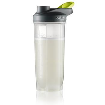 Contigo Shake and Go Fit Mixer Bottle, 28-Ounce, Orange