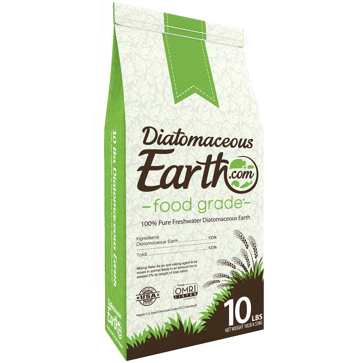 Diatomaceous earth food grade 10 lb patio - How to use diatomaceous earth in the garden ...