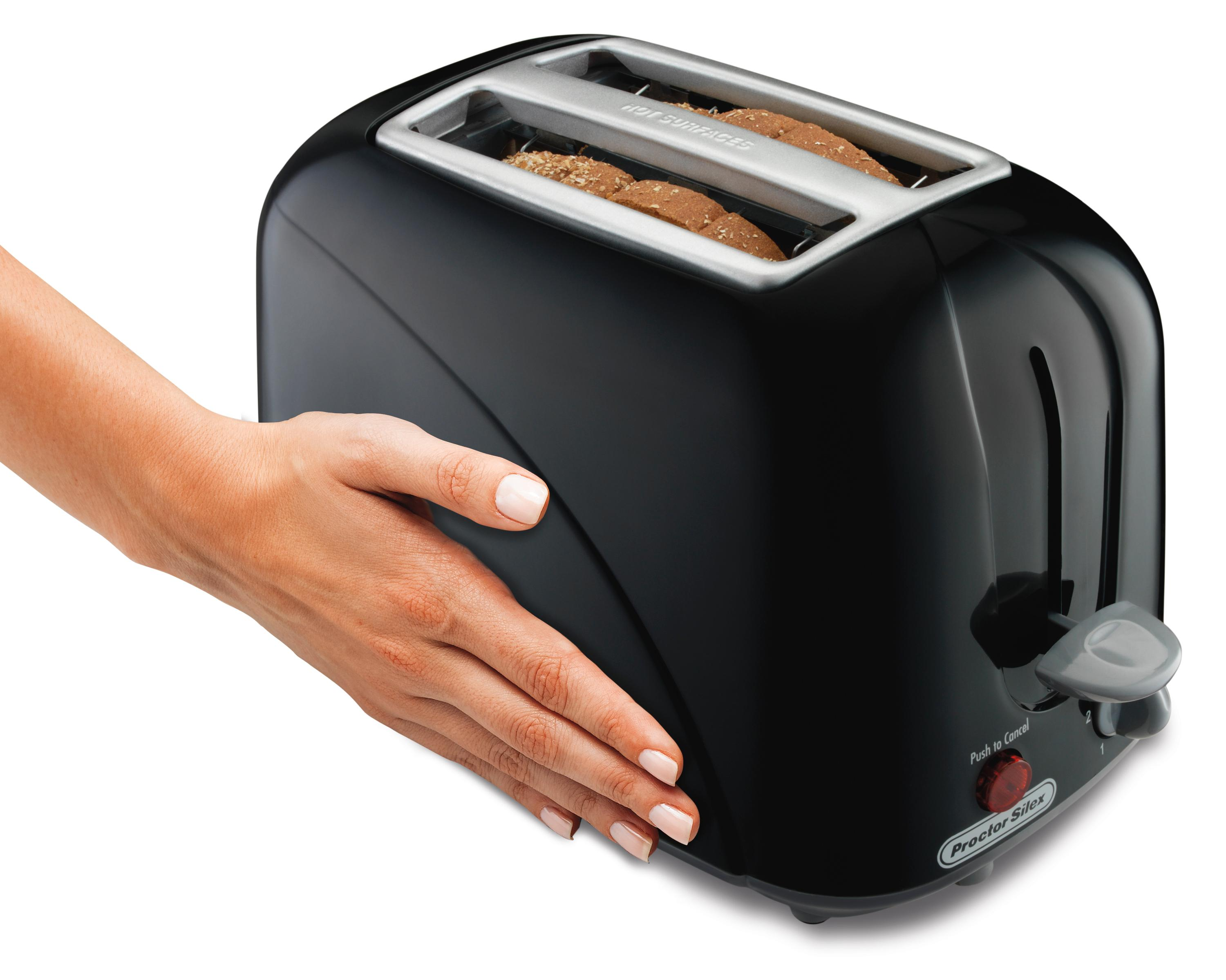 Proctor Silex 22210 2 Slice Toaster Black Kitchen Dining