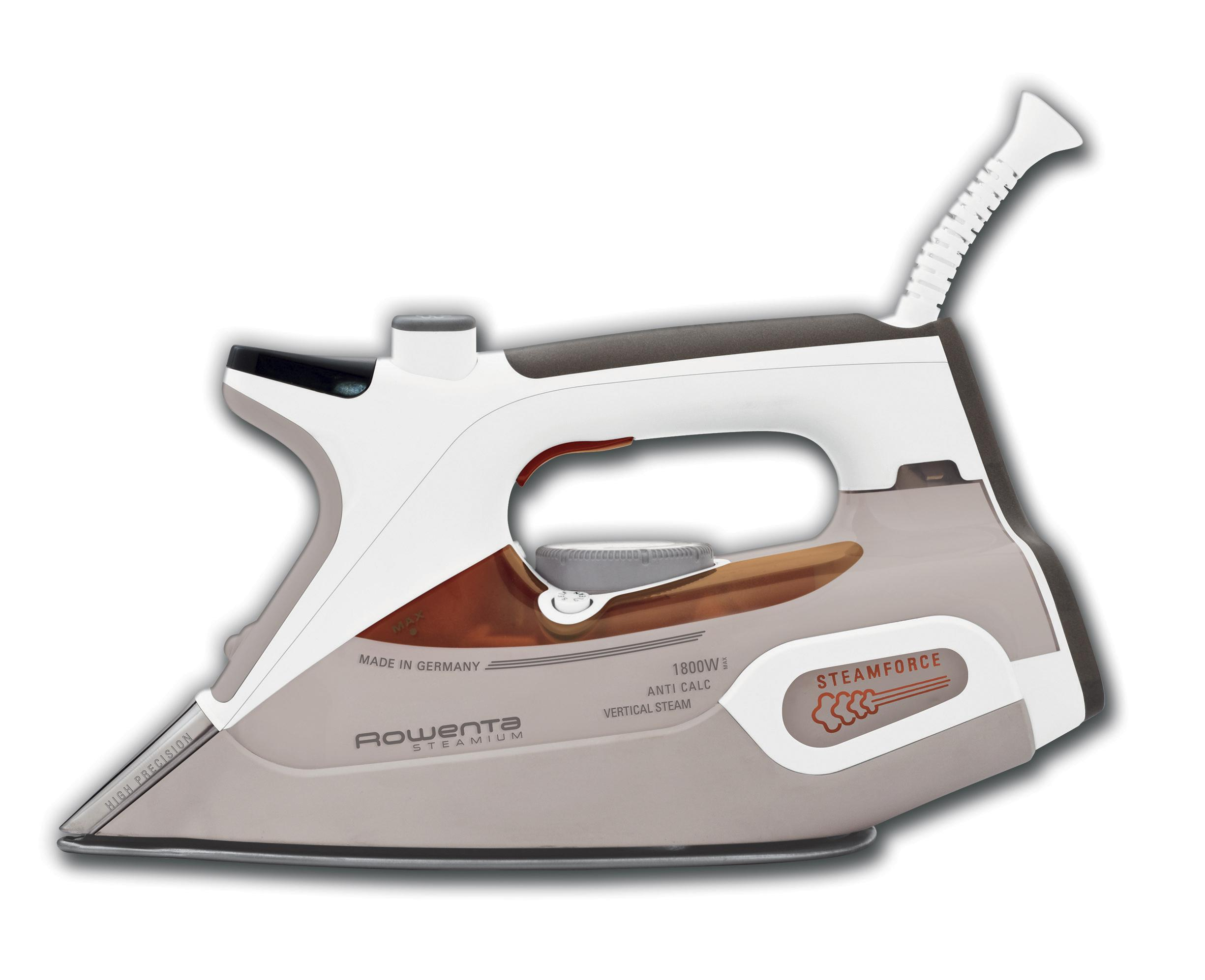 new rowenta steamium steam iron auto off with 400 hole. Black Bedroom Furniture Sets. Home Design Ideas