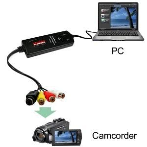 Diamond VC500 USB 2.0 One Touch Video Capture Device