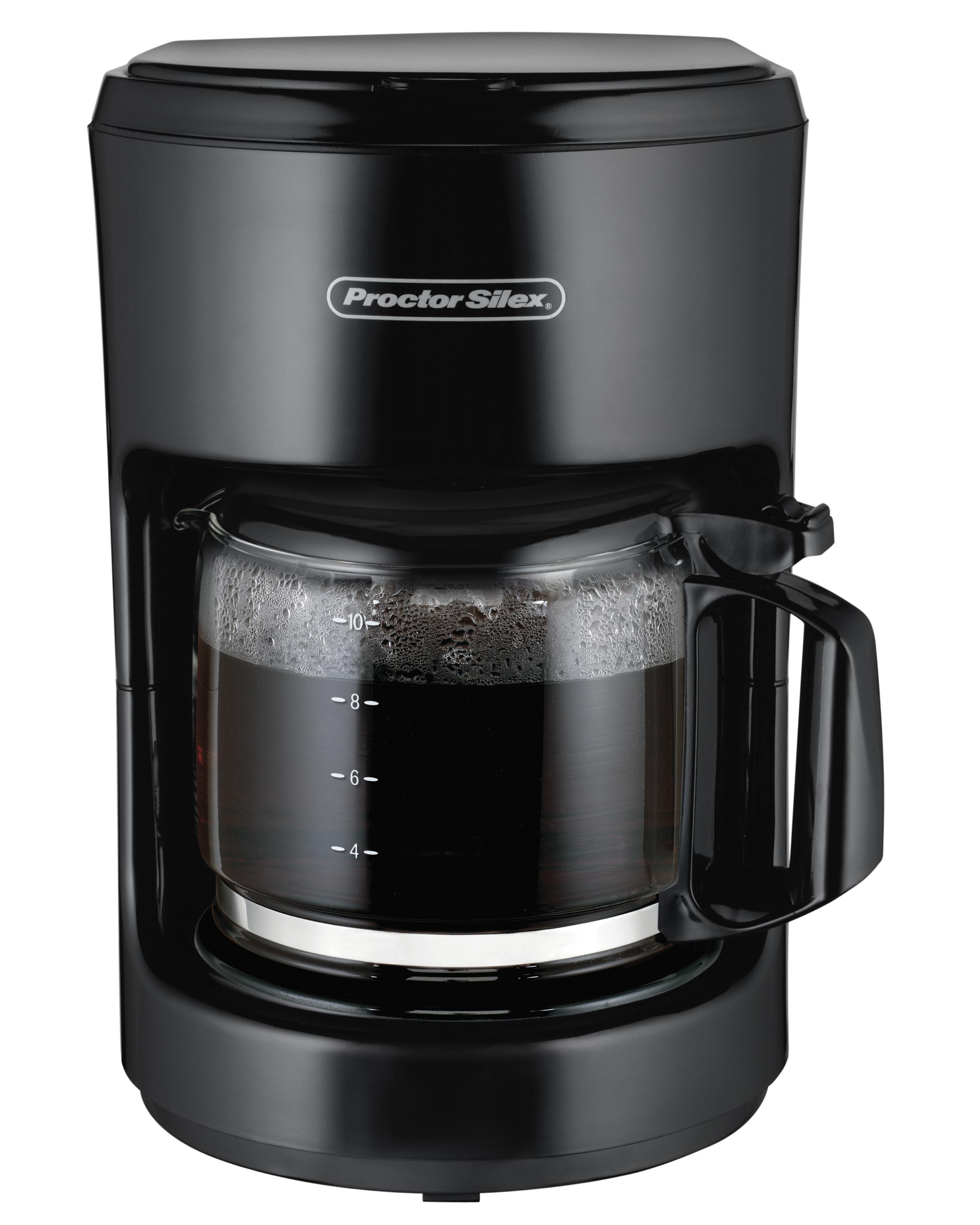 Bunn Coffee Maker Dripping : Amazon.com: Proctor-Silex 10-Cup Coffee Maker (48351): Coffeemaker Carafes: Kitchen & Dining