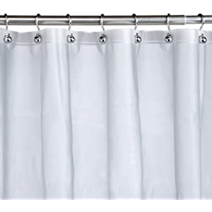 Pinzon Basics PEVA Shower Curtain Liner
