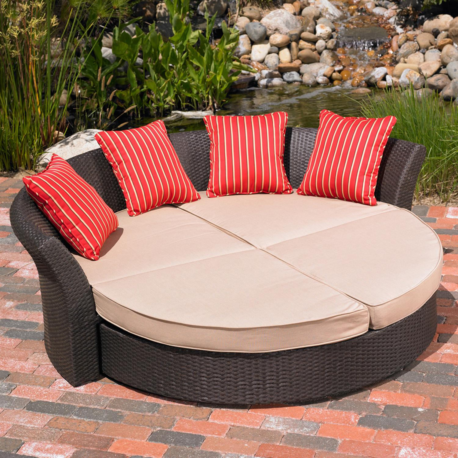 Mission Hills 26768 Co Corinth Daybed Patio Sofas Patio Lawn Garden