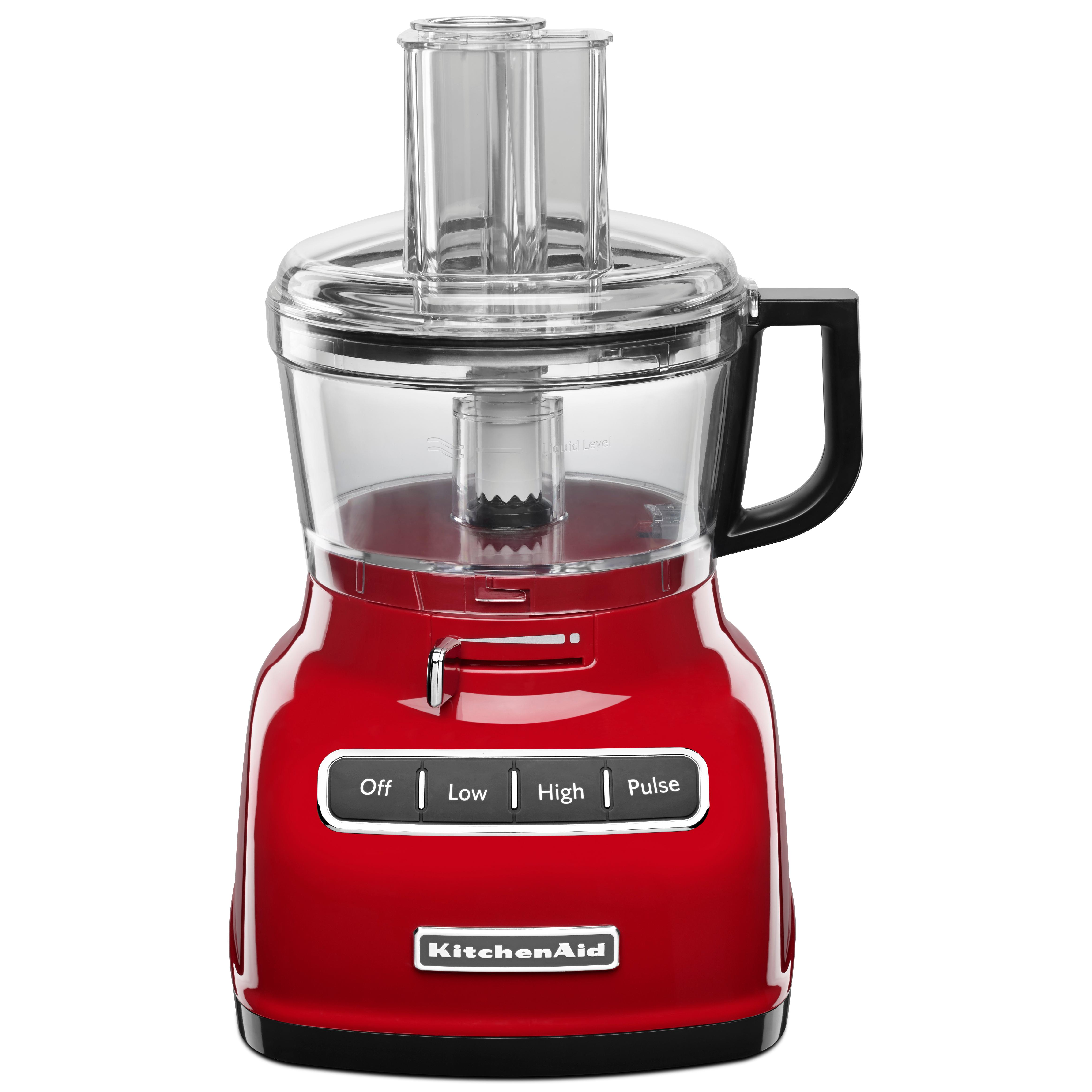 kitchenaid 7 cup food processor with exact slice system