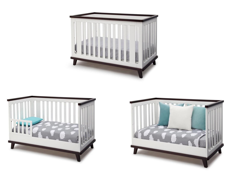 Amazon.com : Delta Children Ava 3-in-1 Convertible Crib ...