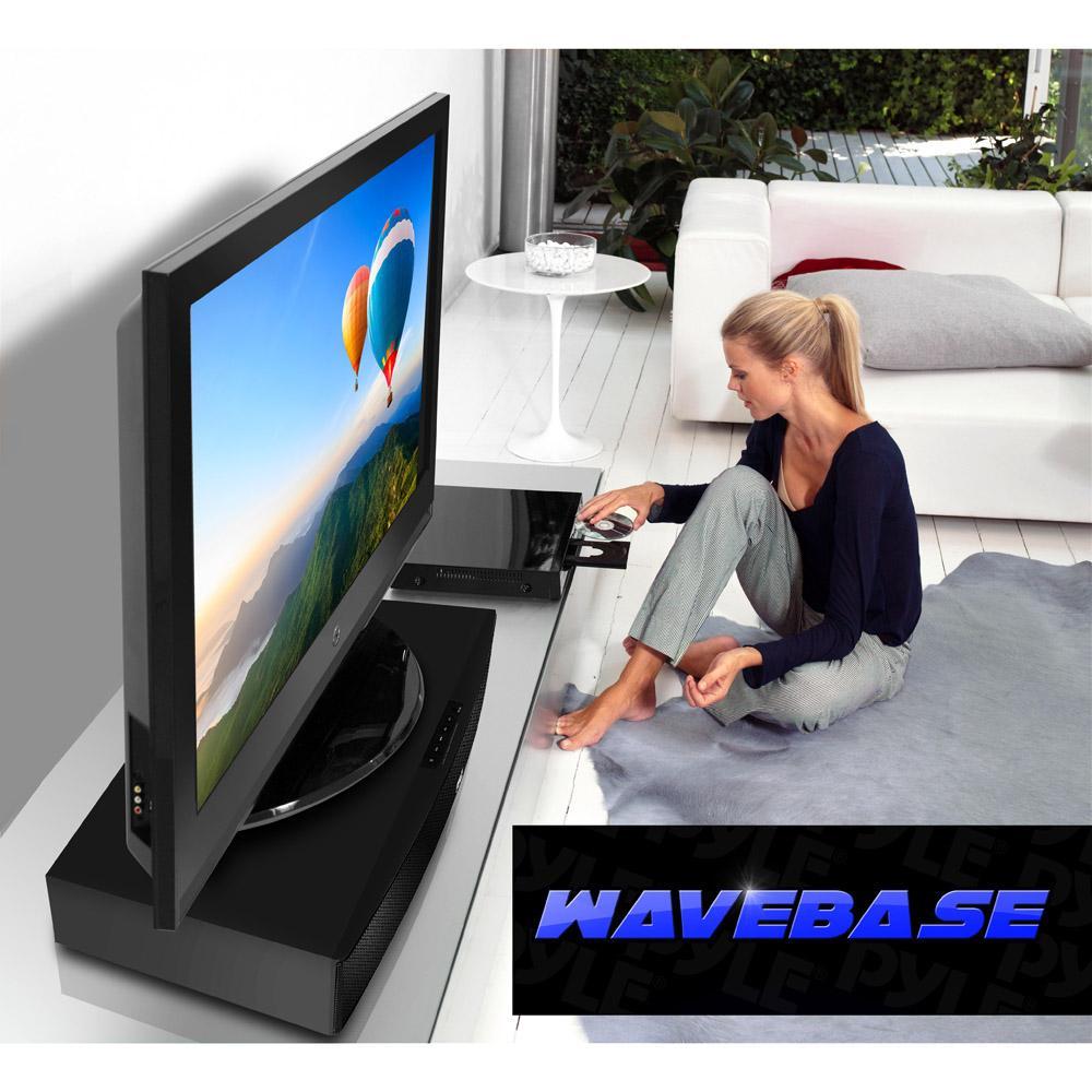tv speaker base system. Black Bedroom Furniture Sets. Home Design Ideas