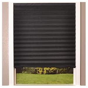 Block Light BlackOut UV Protect 6Pc Pleated Shade Window Blinds