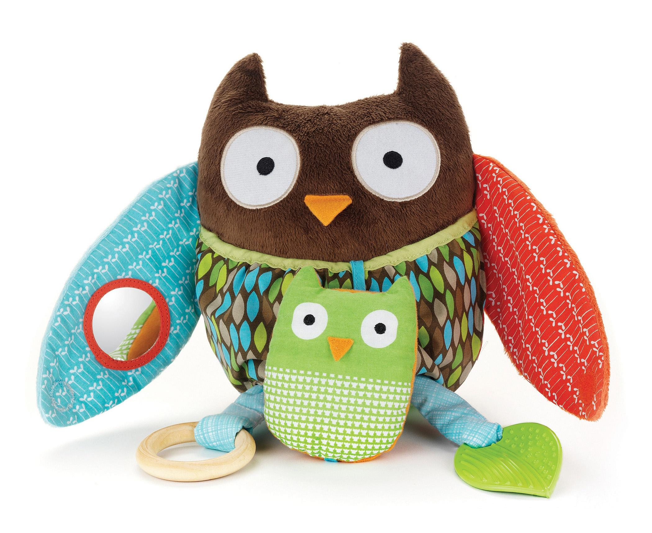 Baby Plush Toys : Amazon skip hop hug and hide activity toy owl