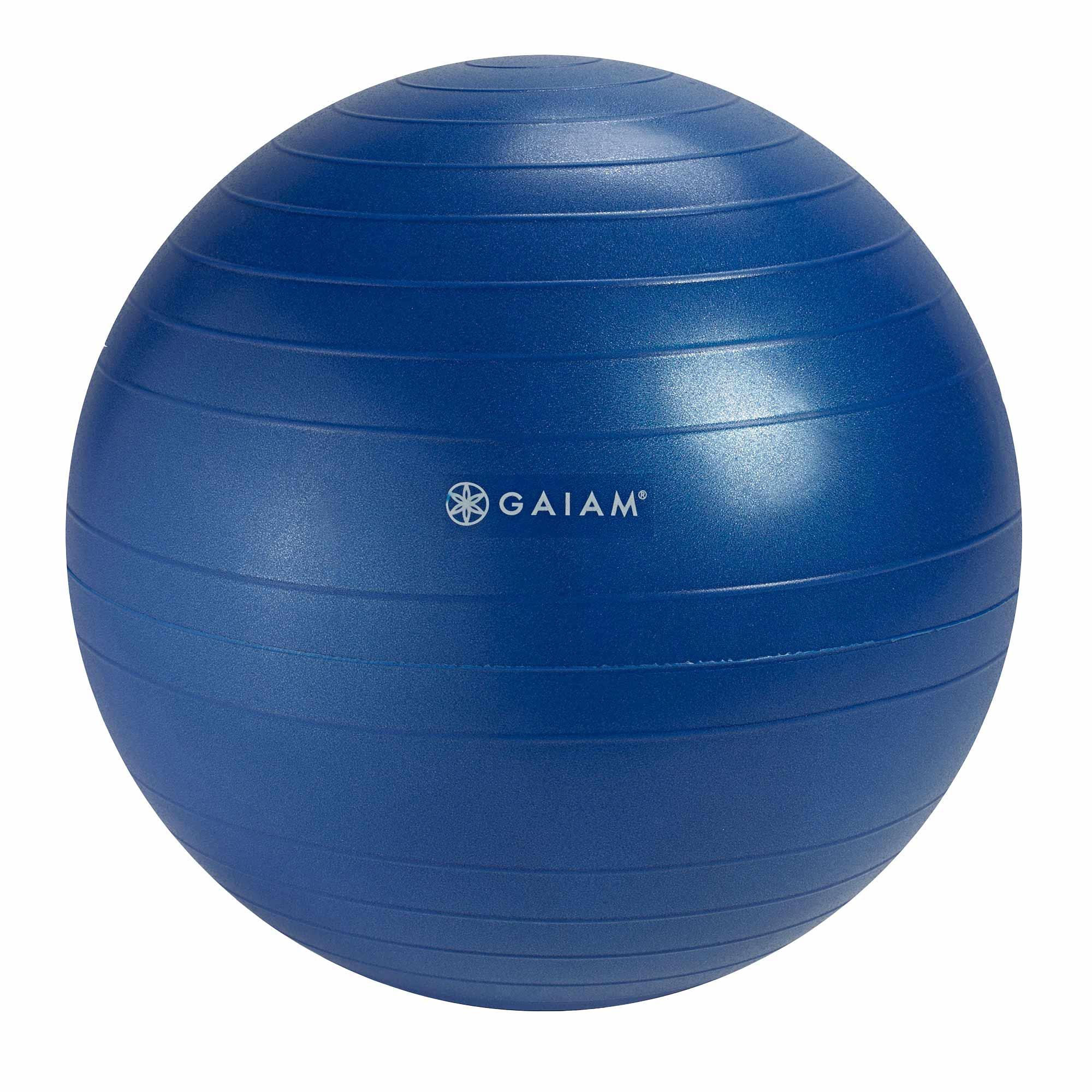 Amazon.com : Gaiam Balance Ball Chair Replacement Ball, 52cm, Ocean Blue : Sports & Outdoors