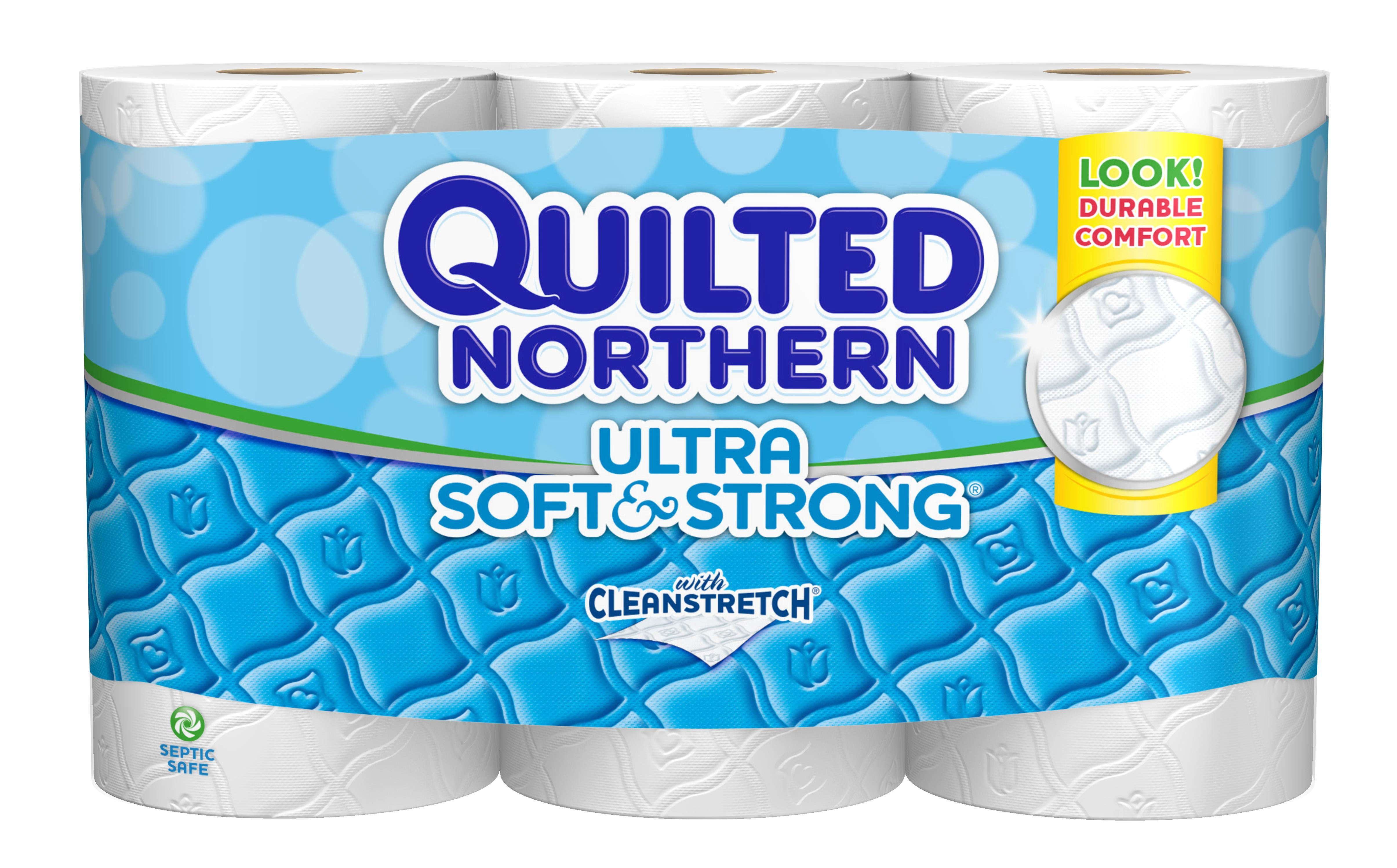 Quilted Northern Ultra Soft And Strong Bath Tissue 12 Double Rolls Health