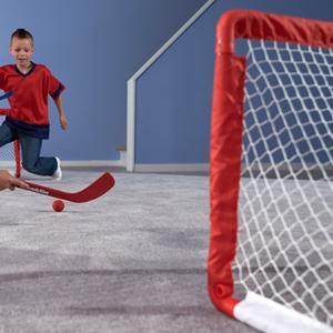 mini hockey, mini hockey goal, carpet hockey, kids hockey, small hockey goals, hockey