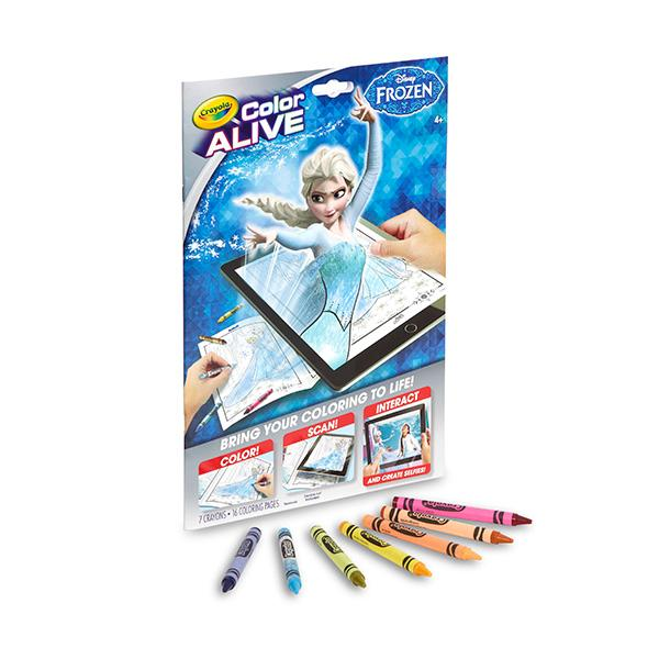 Amazon Crayola Frozen Color Alive Action Coloring