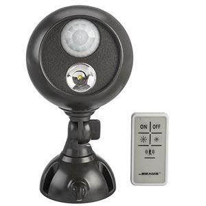 Mr. Beams MB371 Spotlight with Remote Control, wireless LED remote control spotlight