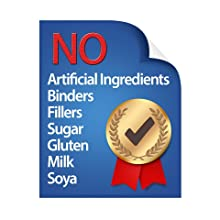 No Fillers, No Binders, Met Dr.Oz Recommended Buying Guidelines