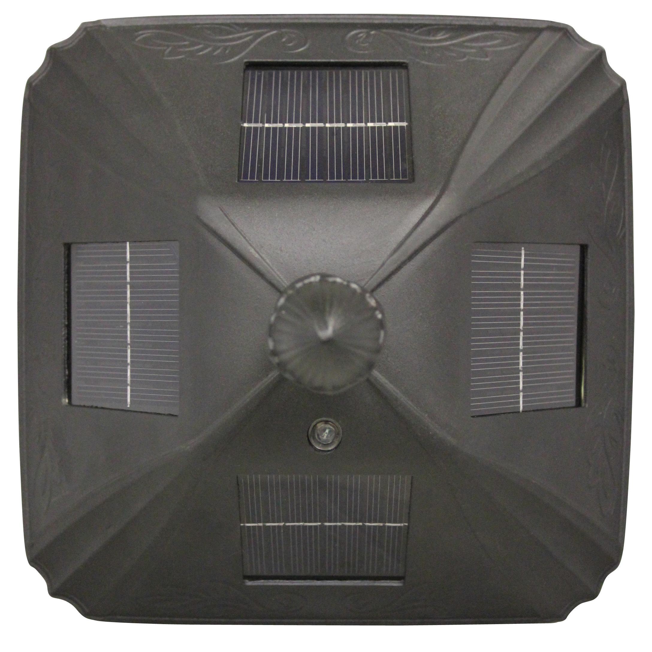 Amazon Com Gama Sonic Windsor Solar Outdoor Post Light: Amazon.com : Gama Sonic Baytown Solar Outdoor LED Light